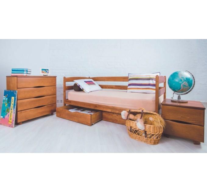 Кровать Марио с ящиками из бука