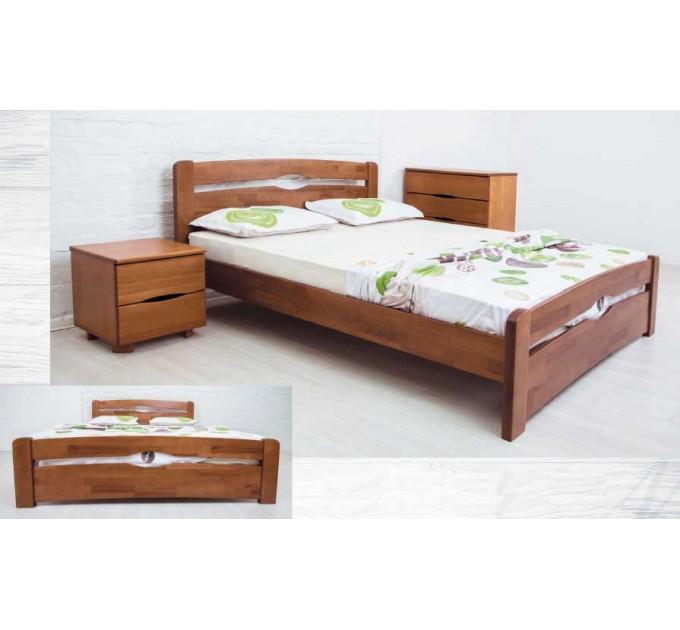 """Кровать """"Нова с ящиками"""" бук"""