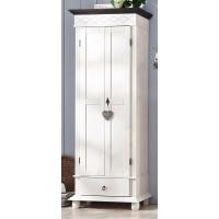 """Шкаф 2-х дверный """"Хелма"""" (белый воск)"""