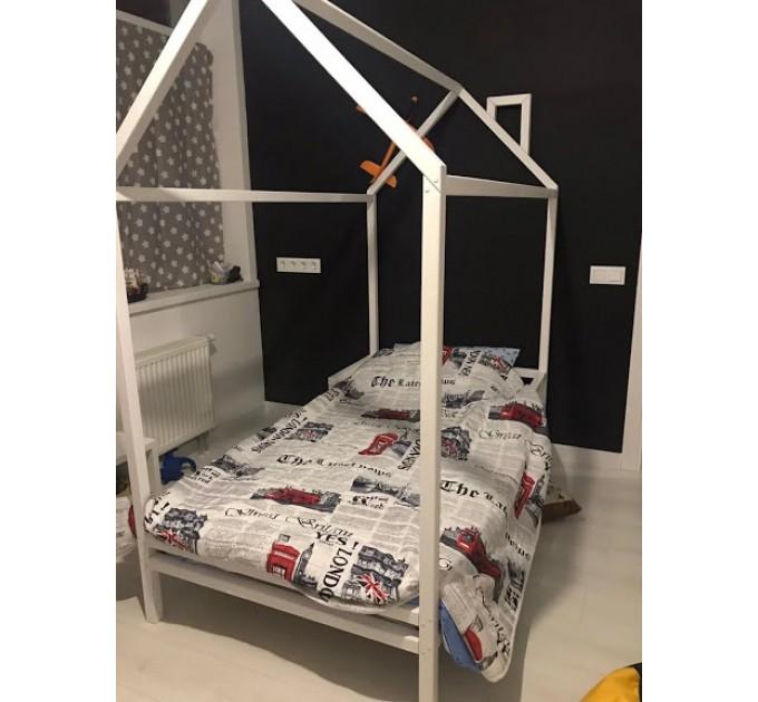 Белый домик кровать Человека паука