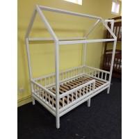 Белый домик кроватка Гарфилд