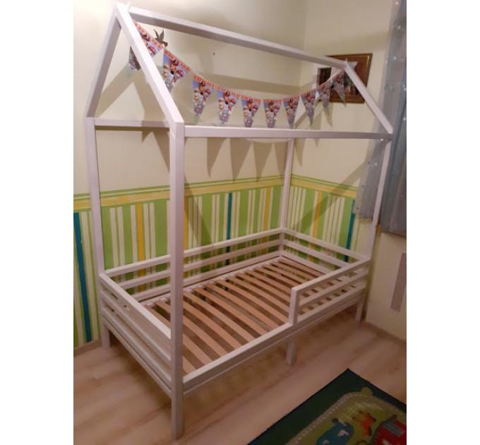 Белый домик кровать Летучий Корабль