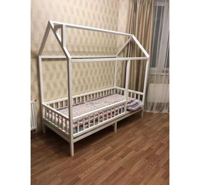 Белый домик кроватка Простоквашино