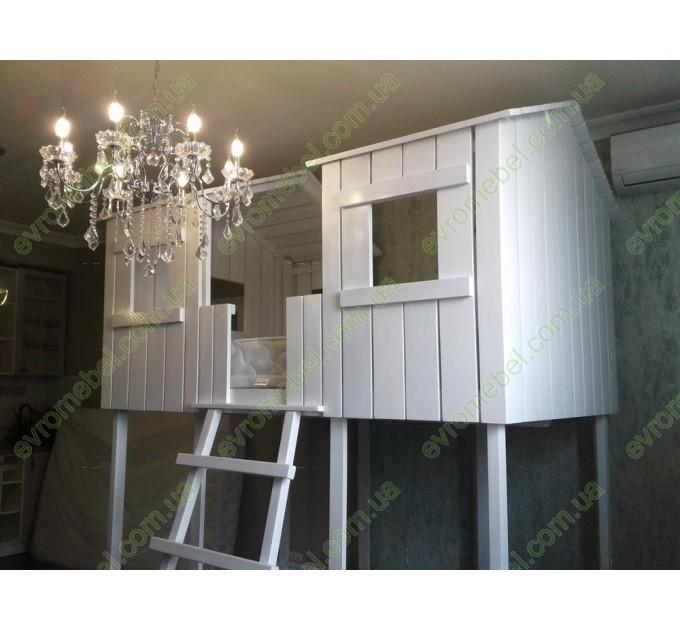 Двоярусне ліжко-будиночок Вінні-Пух