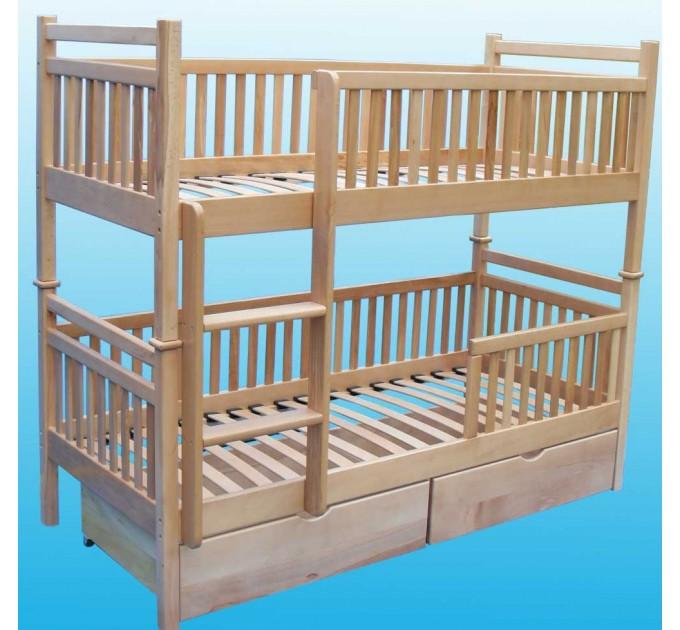 Двухъярусная кровать-трансформер Бук-6