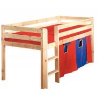 Детская кровать-чердак Экстра из бука