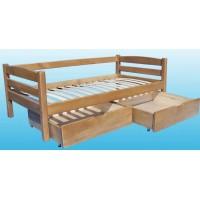 Детская кровать Ика из бука