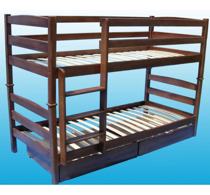 Двухъярусная кровать Твайс из бука