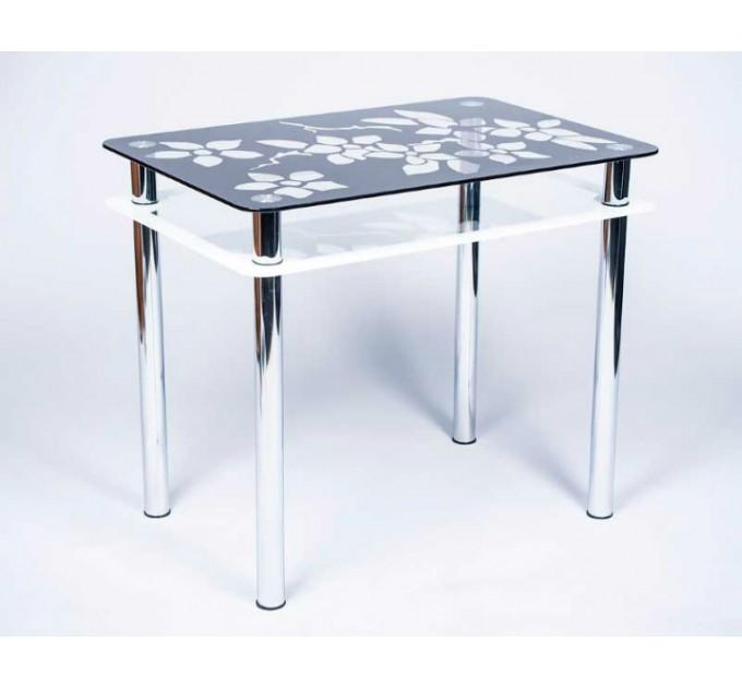 Обеденный стол Цветы-Рамка