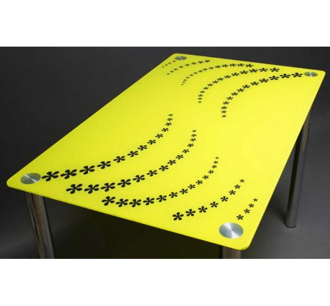 Обеденный стол Цветочная волна