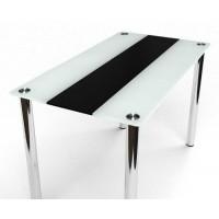 Обеденный стол Вектор черно-белый