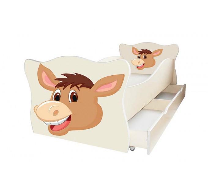 "Ліжечко для малят ""Animal"" з ящиком"