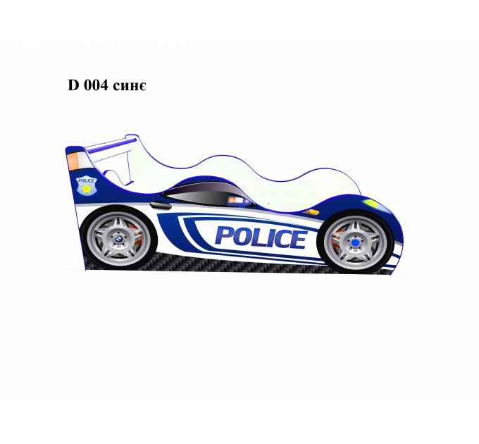 """Кровать-машинка """"Police"""", серия Драйв"""