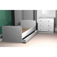 Ліжко з ящиком Свинка Пеппа, МДФ