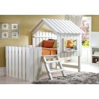 Детская кровать домиком Незабудка