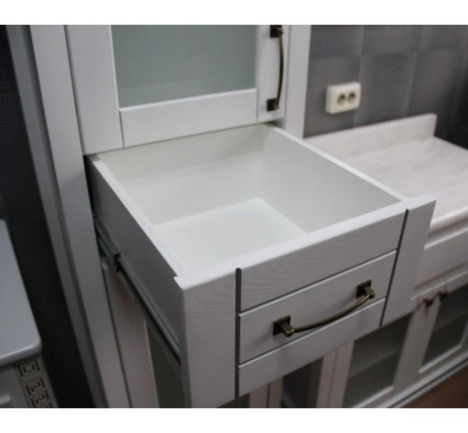 Комплект в ванную Грация c серебряной  патиной