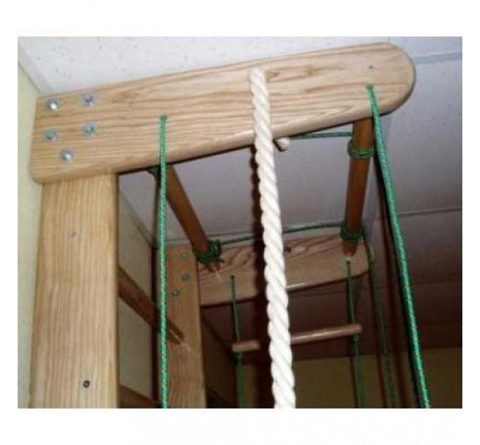 Спортивный уголок с веревочным набором (СТАНДАРТ) из ЯСЕНЯ