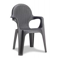 Кресло Intrecciata антрацит