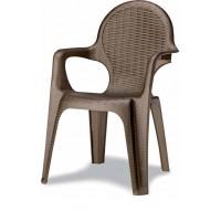 Кресло Intrecciata бронза