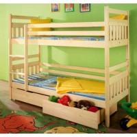 """Двухъярусная кровать """"Тимур"""" из бука"""