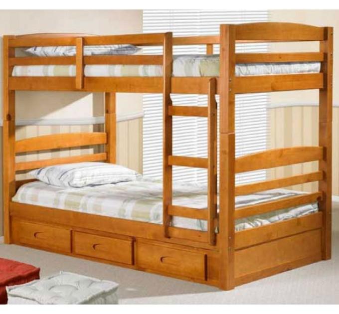 Двоярусне ліжко-трансформер Базиліо