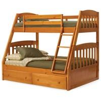 Двоповерхове ліжко-трансформер Дакота