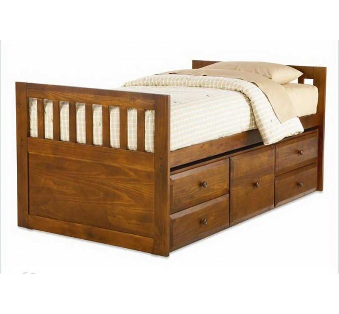 Односпальная кровать Дельта