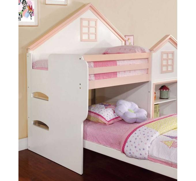Кровати для двоих детей Домик Барби