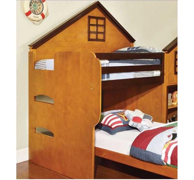 Кровати для двоих детей Домик Лондон