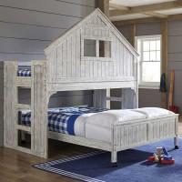 Двухъярусная кровать-домик Малибу