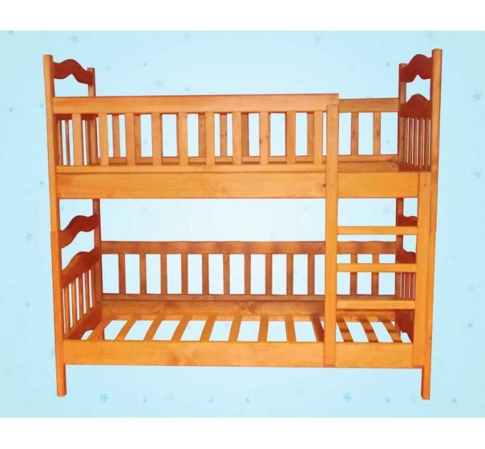 Дитяче двоярусне ліжко-трансформер «Мальвіна»