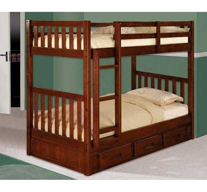 Двоярусне ліжко-трансформер Мілан