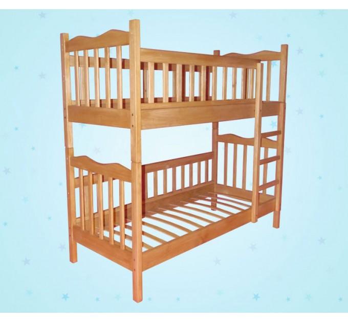 Дитяче двоярусне ліжко-трансформер «Ніка»