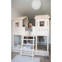 Двухъярусная кровать-домик Винни-Пух