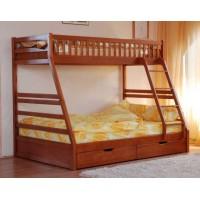 Двухъярусная кровать-трансформер Юлия