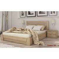 Ліжко Селена з бука з підйомним механізмом