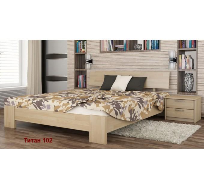 Кровать Титан из бука