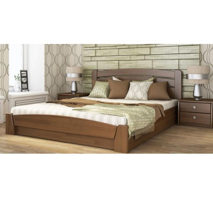 Ліжко Селена-Аурі з бука з підйомним механізмом
