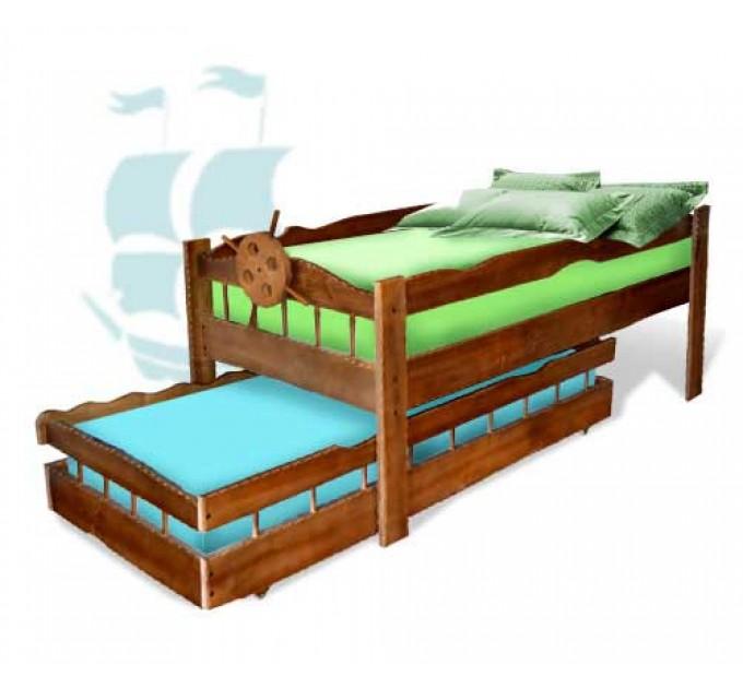 Двухъярусная кровать-трансформер Афоня венге