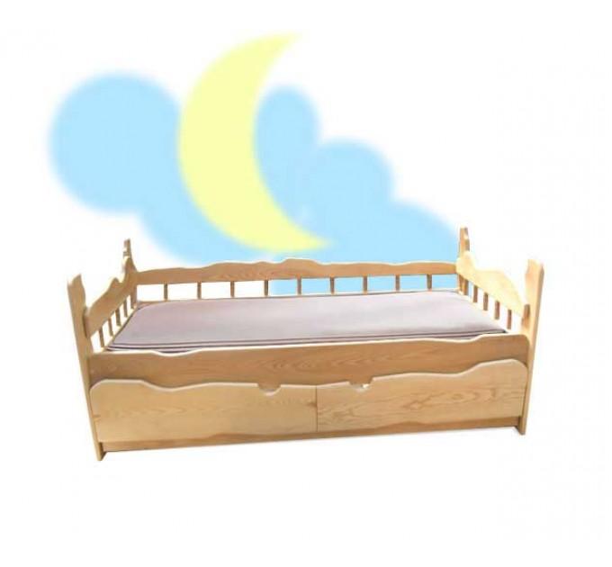 Детская кровать Астра ольха, ясень, дуб