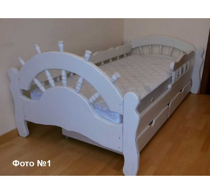 Детская кровать Бриз ольха, ясень, дуб