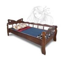 """Детская кровать """"Эльф"""" ольха, ясень, дуб"""