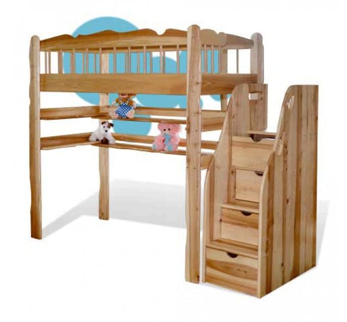 Кровать-чердак Капитошка