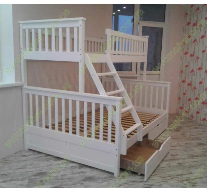 Трехместная кровать Жасмин