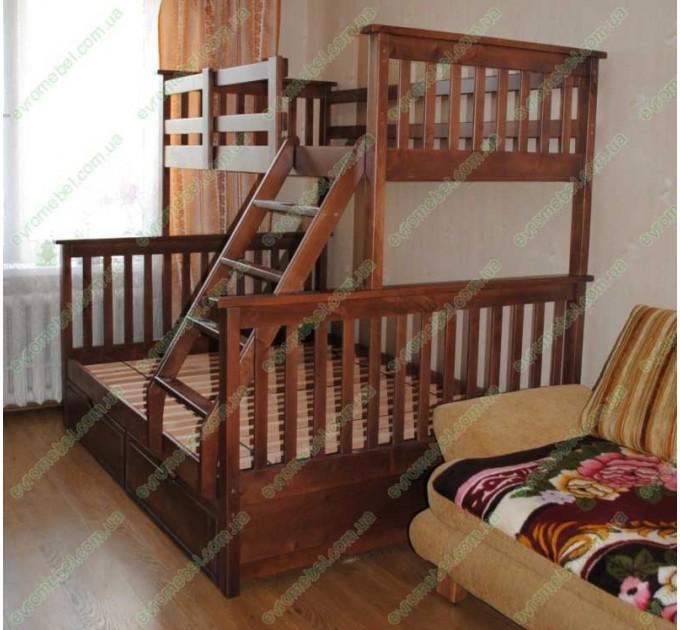 Кровать Олимп трехместная
