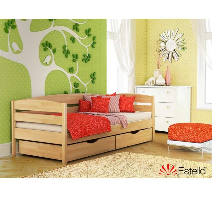 Дитяче ліжко Нота плюс з бука