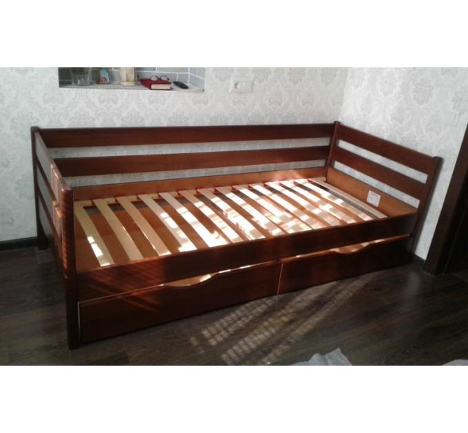 Детская кровать Нота из бука