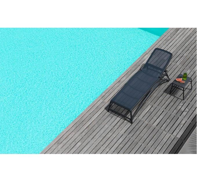 Лежак Atlantico Antracite Antracite пляжный