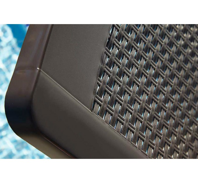 Лежак Miami коричневый