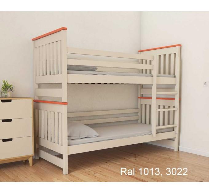 Двох'ярусне ліжко трансформер Адель Duo з бука